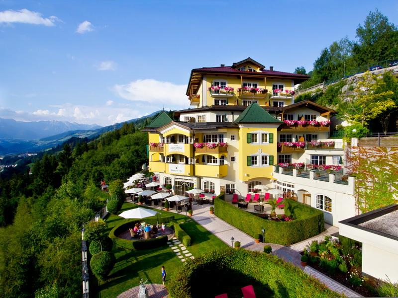 Das Hotel AlpenSchlössl in St.Johann