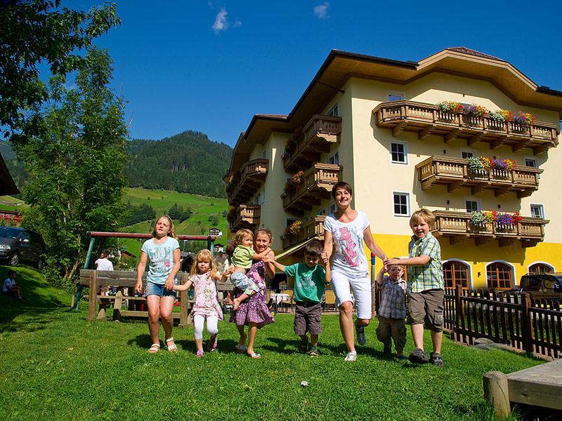 Das Hotel Bergzeit in Großarl