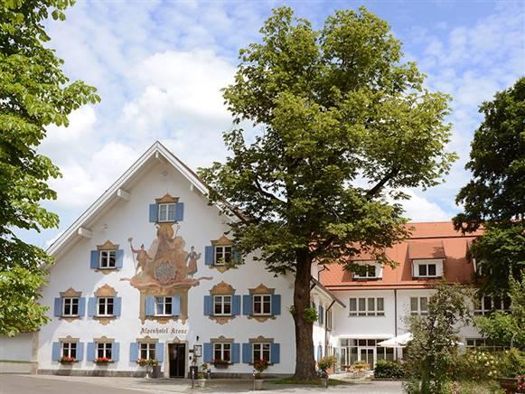 Das Alpenhotel Krone in Pfronten