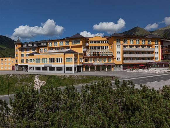 Das Hotel Steiner in Obertauern
